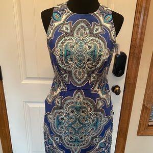NEW Dressbarn work paisley floral dress size 8/10